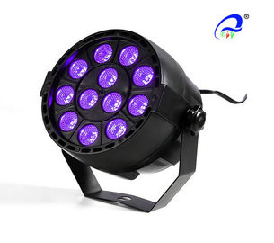 China Battery LED Par Light 12 PCS 1Watts LED Super Mini Par 64 Light For Party Show distributor