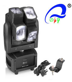 China Unique Single Axis 8*10W Beam Moving Head Light LED RGBW 4 in 1 LED Moving Head Spot distributor