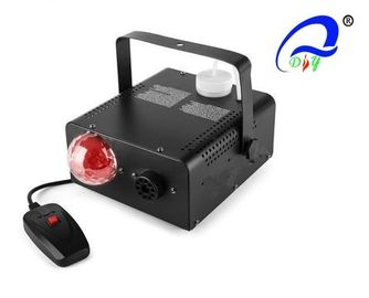 China 400W Mini Stage Effect Fog Fire Machine Stage smoke machine with LED RGBW Light distributor