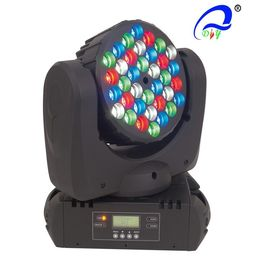 China 36PCS 3W LED RGBW Mini Disco Moving Head Beam Stage WasH Light distributor