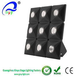 China 9pcs 3W warm white RGBW LED Gold matrix moving head stage light For Dj Equipment distributor