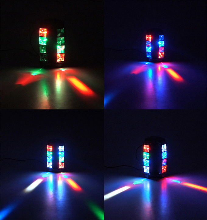 LED Graphic Display Mini Beam Spider Moving Head Light Adjustable Speed Strobe
